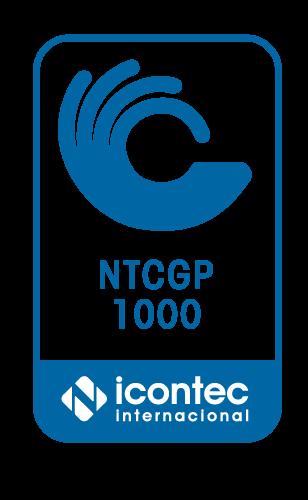 Certificado ICONTEC ISO NTCGP 1000